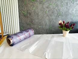 dining table cover clear crystal clear plastic rolls pvc plastic clear sheet buy crystal