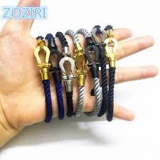 cord rope bracelet images Fashion women cotton cord magnetic buckle bracelet luxury brand jpg
