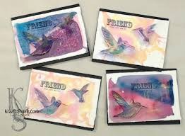 handmade watercolor cards creating handmade cards with watercolor warm ups kraaft shaak