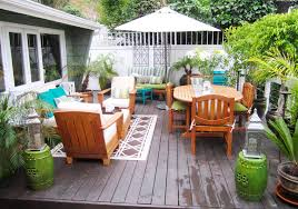 deck furniture ideas my hollywood hills deck makeover part 1 before after in just