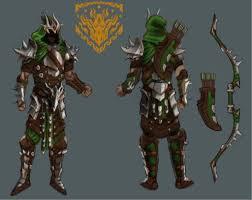 concept ranger ranger dragonscale concept celtic heroes