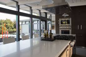 countertops mid century modern homes home modern