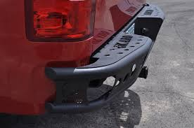 nissan titan rear bumper replacement replacement rear bumpers horsepowerfreaks performance exhausts