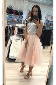 spodnica tiulowa spódnica tiulowa brzoskwiniowy girl