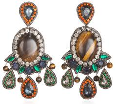 suzanna dai earrings suzanna dai romani large drop earrings 9 supersized statement