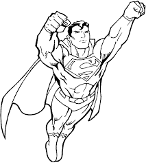 Superman Coloring Pages Coloring Page For Kids Kids Coloring Superman Coloring Pages Print