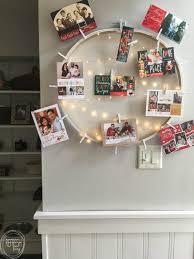 diy christmas card holder refresh living