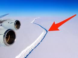antarctica u0027s larsen c ice shelf may slide into the ocean