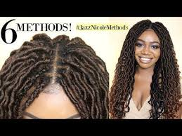 youtube crochet hairstyles on thinning hair 6 ways to install crochet locs new individual crochet methods
