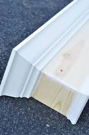 Making A Window Valance Remodelaholic How To Build And Hang A Window Cornice