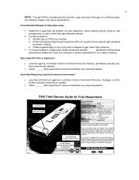 chapter six examples of emergency response procedures