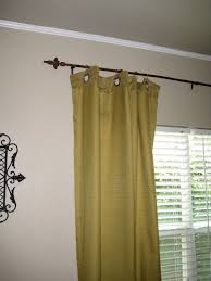 remodelaholic welded fence rail curtain rods
