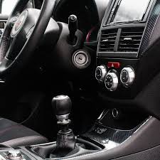 Car Interior Carbon Fiber Vinyl Wrapped My Interior With Carbon Fiber Vinyl 2011 Sti Subaru