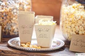 popcorn wedding favors wedding popcorn bars favors poptions gourmet popcorn