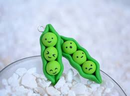peas in a pod charm kawaii peas in a pod polymer clay charms by linnypig on deviantart