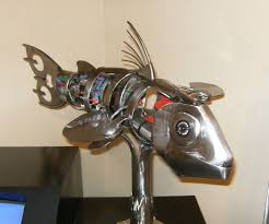 animatronic fish with pictures