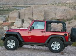 red jeep 2 door jeep wrangler rubicon 2007 picture 12 of 31