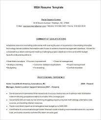 Resume Free Samples Download by Wonderful Looking Mba Resume Template 8 Mba Resume Template 11
