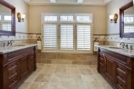 travertine tile ideas bathrooms travertine tile bathroom bathroom traditional with custom vanity