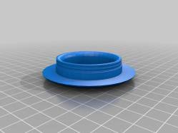 Patio Table Grommet Patio Table Grommet 3d Models Thingiverse