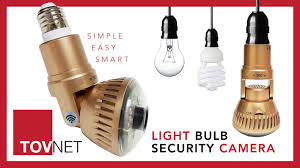 wifi camera light bulb socket tovnet world s first light bulb wifi security camera by tovnet