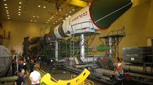 photos soyuz rocket assembly for next progress cargo mission to