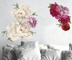 3d rainbow house 98 wallpaper mural wall print decal wall deco vintage peony flowers seasonal bouquet wall decal sticker rose peony art peel and stick floral decor