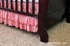 diy ruffle crib skirt find it make it love it
