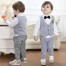gentleman 39 s best wholesale spring autumn children s clothing sets baby boy s