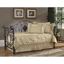 Wrought Iron Daybed Mercer Wrought Iron Daybed In Antique Brown Humble Abode