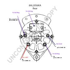 wiring diagrams ford 3 wire alternator hookup 2 wire alternator