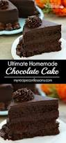recipe for homemade chocolate cake best cake 2017