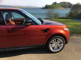 land rover red range rover sport spectral racing red svo paint pallet voiture