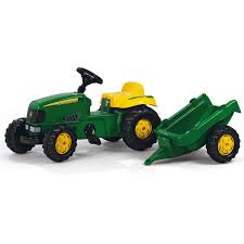 John Deere Bunk Beds Rolly Toys Kid John Deere Tractor And Trailer Kiddicare Com