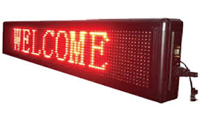 indoor outdoor led display board compucare india