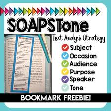 Occasion Soapstone Freebie Soapstone Text Analysis Bookmark By Plans By Mrs B Tpt