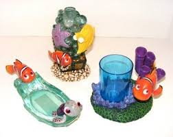 Nemo Bathroom Accessories by Finding Nemo Bath Set Soap Dish U0026pump Toothbrush Tumbler 91786473