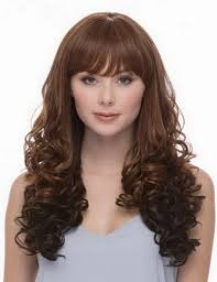 hairstyles for curly hair with bangs medium length hairstyle beautiful layered curly hair for women hairstyle