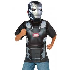 Plus Size Halloween T Shirts by War Machine Kids Play Time Costume Marvel The Avengers Costumes