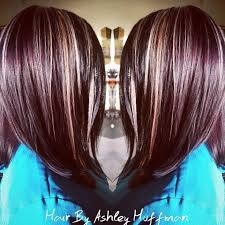 mahogany red hair with high lights best 25 red violet highlights ideas on pinterest red violet