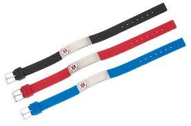 rubber stainless steel bracelet images Black rubber stainless compartment medical id bracelet png