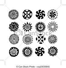 ethnic handmade ornament for your design vector eps vector