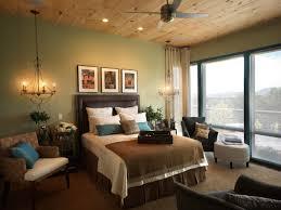 green color for bedroom home design