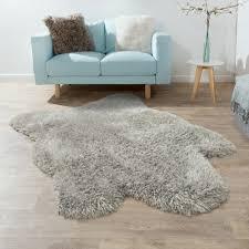 tappeti di pelliccia tappeto di pelliccia sintetica imitazione stile flokati pelo