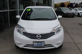 grey nissan versa nissan versa hatchback in washington for sale used cars on