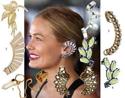 earrings cuffs ear cuffs 7 inspired ways you can give your lobes some