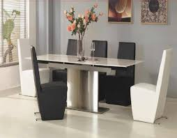 Black Wooden Dining Table And Chairs Furniture Astounsding White Wooden Dining Table With Black