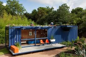 houses made of shipping containers in house built out