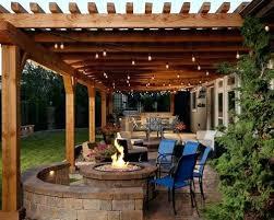 patio pergola pictures outside ideas lighting u2013 metstransitstudy info