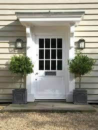 Awning For Back Door Back Door Canopy Ideas How To Create Front Door Appeal Back Door